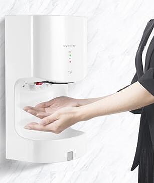 衛生間吹手烘幹機洗手間烘手機幹手器全自動感應烘手器幹手機 LX 夏季上新