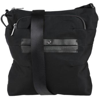 《セール開催中》MANDARINA DUCK レディース メッセンジャーバッグ ブラック 紡績繊維