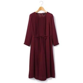 KEITH/キース サテンジョーゼット ドレス レッド 40