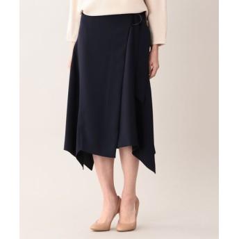 AMACA/アマカ セラテリー スカート ネイビー2 40
