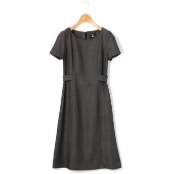 KEITH/キース バーズアイ ドレス チャコールグレー 38