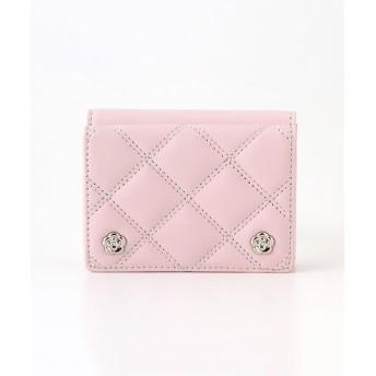 CLATHAS/クレイサス CLATHAS クレイサス クラシック 三つ折り財布 ピンク フリー