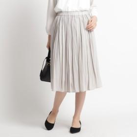 [マルイ] 【ママスーツ入学式 スーツ卒業式 スーツ SLサイズあり 洗える】パウダーサテンスカート/デッサン(レディス)(Dessin Ladies)