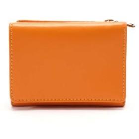 ROSE BUD/ローズ バッド 3つ折りミニウォレット オレンジ -