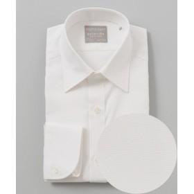 gotairiku/ゴタイリク 【形状安定】【スリムフィット】PREMIUMPLEATS ドレスシャツ ホワイト系 14H