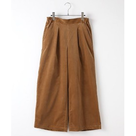 MARcourt/マーコート corduroy wide PT brown 2
