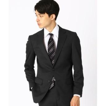 COMME CA ISM/コムサイズム 〈セットアップ〉 ウールギャバ スーツジャケット ブラック XS