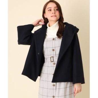 Couture Brooch/クチュールブローチ 【WEB限定サイズ(LL)あり】メルトンフーデットコート ネイビー(093) 40(L)