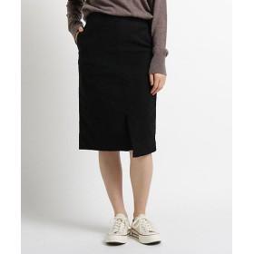 【SALE(三越)】<JET/ジェット> モールスキンストレッチタイトスカート(2001601309) クロ【三越・伊勢丹/公式】