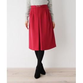 index/インデックス 【her style.掲載】【36(S) 、42(LL)WEB限定サイズ】ビットボックスプリーツスカート ワインレッド(063) 36(S)