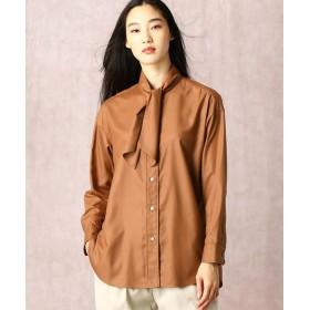 COMME CA/コムサ ミニスタンドカラーシャツ ブリック 5号