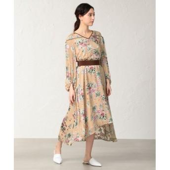 EPOCA/エポカ フィオーレオパール ドレス ベージュ1 38