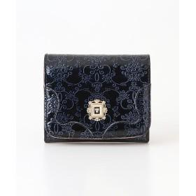 ANNA SUI/アナスイ ANNA SUI アナ スイ ルーミー 【新型】二つ折りBOX財布 ネイビー フリー