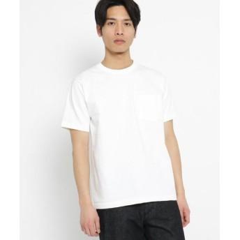 BASE STATION/ベースステーション 日本製 JAPAN MADE ハイブリッド Tシャツ アイボリー(004) 05(3L)