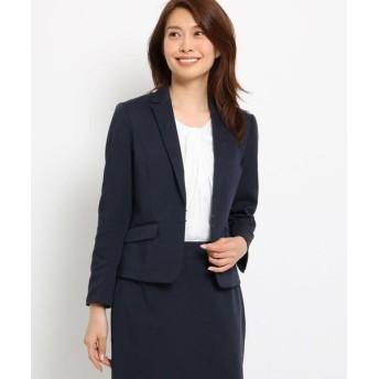 SunaUna/スーナウーナ 【洗える】ドライリネンオックスジャケット ネイビー(093) 36(S)