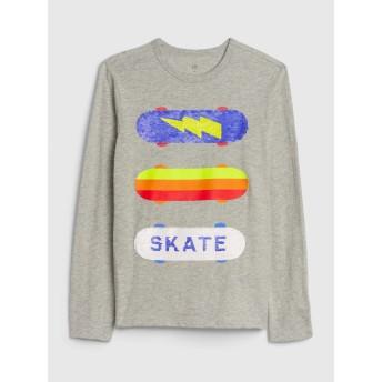 Gap キッズ変身スパンコールTシャツ