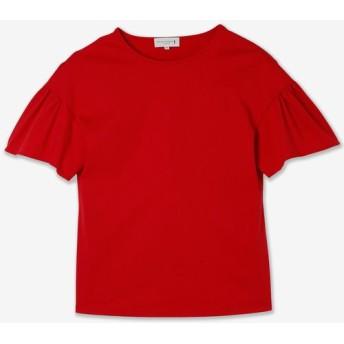 MACKINTOSH LONDON/マッキントッシュ ロンドン シルフィートリコットTシャツ レッド2 38
