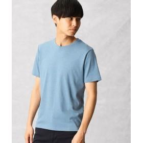 COMME CA MEN/コムサ・メン ゼロステイン Tシャツ ブルー L