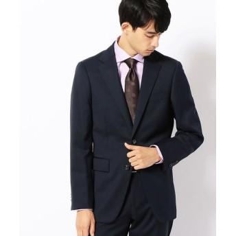 COMME CA MEN/コムサ・メン CERRUTIギャバセットアップジャケット ネイビー XL