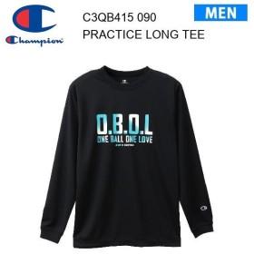 19fw チャンピオン Champion プラクティスロングTシャツ 19FW 【秋冬新作】E-MOTION  C3-QB415 カラー ブラック メンズ  正規品