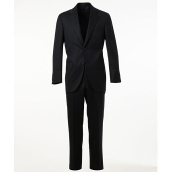 J.PRESS/ジェイプレス 【HIGHLANDS PEPPIN MERINO】シャドウヘリンボン スーツ ネイビー系1 AB7
