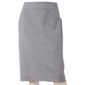 INED L/イネド(エルサイズ) 《大きいサイズ》ウォッシャブルタイトスカート グレー1 13