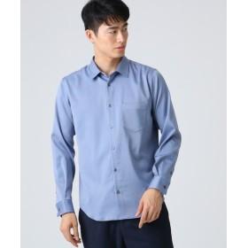 tk. TAKEO KIKUCHI/ティーケー タケオキクチ マイクロスパンレギュラーシャツ ライトブルー(091) 02(M)