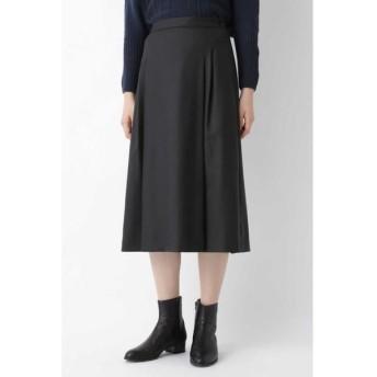 HUMAN WOMAN/ヒューマンウーマン ◆ウールサキソニーストレッチスカート スミクロ1 S