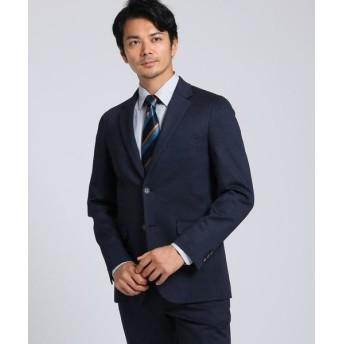 TAKEO KIKUCHI/タケオキクチ 絣ジャージ ジャケット ネイビー(093) 02(M)