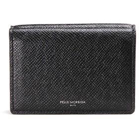 ペッレモルビダ 三つ折り財布 コンパクトウォレット Barca PMO-BA319 Black