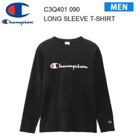 19fw チャンピオン Champion ロングスリーブTシャツ 19FW【秋冬新作】ベーシック  C3-Q401 カラー ブラック メンズ  正規品