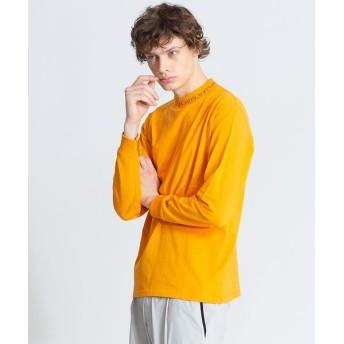 ABAHOUSE/アバハウス 【CEIZER×ABAHOUSE/別注】モックネック刺繍Tシャツ オレンジ 46