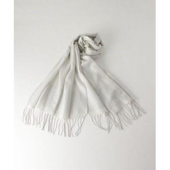 BEAUTY & YOUTH UNITED ARROWS/ビューティ&ユース ユナイテッドアローズ BY DRESS ラメストール 60x190 SILVER FREE