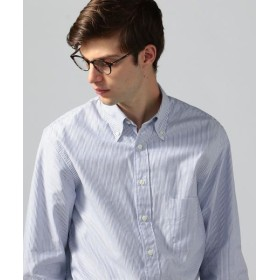 TOMORROWLAND/トゥモローランド コットンオックスフォード ボタンダウンシャツ 64 ブルー系 XS