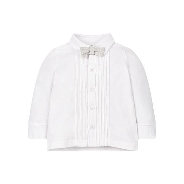 mothercare 秋冬男嬰長袖襯衫-盛裝系列-白色(M0JJ438)12M~5A