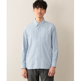 MACKINTOSH PHILOSOPHY (MENS)/マッキントッシュ フィロソフィー メンズ テクノオックスフォード ボタンダウンMPシャツ ブルー6 40