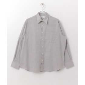 URBAN RESEARCH/アーバンリサーチ FSC×INDIVIDUALIZED CLASSICFIT SHIRTS / CHECK GRY L