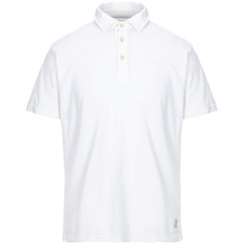 《セール開催中》ORIGINAL VINTAGE STYLE メンズ ポロシャツ ホワイト S コットン 100%