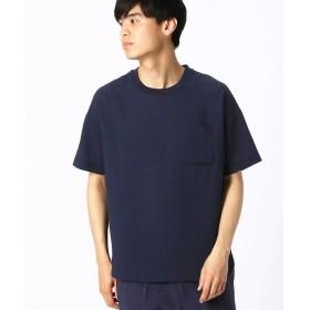 COMME CA ISM/コムサイズム ビッグTシャツ ネイビー M