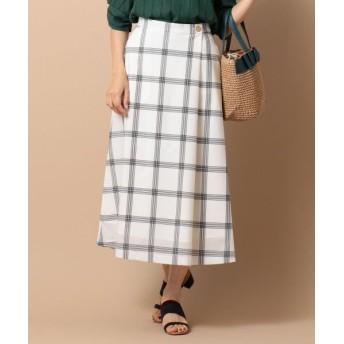 any SiS/エニィスィス 【洗える】ライトサマーフレア スカート ホワイト系2 1