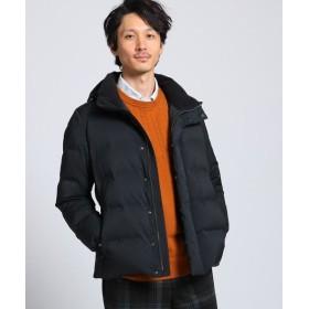 TAKEO KIKUCHI/タケオキクチ シームレス 千鳥ジャカードテクノダウン ブルゾン ブラック(019) 03(L)