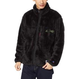 SLOPER(スローパー) メンズ RUSSELL×SLOPER ボアフリースジャケット 121931026001 M ブラック