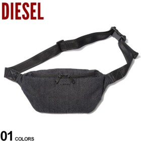 ディーゼル バッグ DIESEL ボディバッグ デニム ロゴ ウエストバッグ D-SUBTORYAL DENIM BE ブランド メンズ レディース 鞄 ウエストポーチ DSX06342PR413