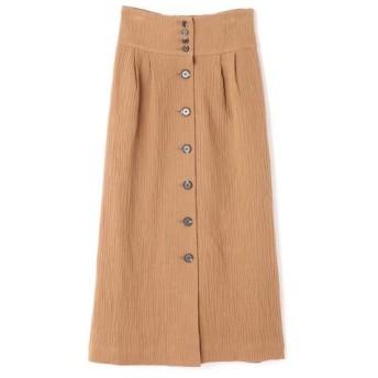 ROSE BUD/ローズ バッド フロントボタンスカート ベージュ -