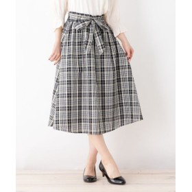 grove/グローブ 共リボン付きTRCKアソートSKスカート ブラック(219) 03(L)
