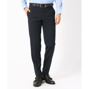 COMME CA ISM/コムサイズム 《セットアップ》 ピンストライプ スーツパンツ ネイビー L