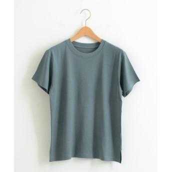 NIMES/ニーム Quick-dry Jersey ワンポイントT インクブルー F