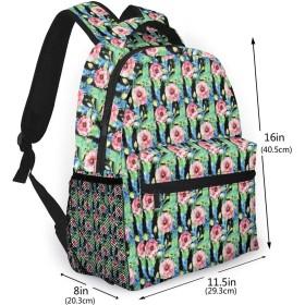 バックパック 花柄 トルコギキョウ Pcリュック ビジネスリュック バッグ 防水バックパック 多機能 通学 出張 旅行用デイパック