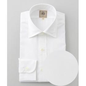 J.PRESS/ジェイプレス 【Single Needle Tailoring】ブロード シャツ / ワイド ホワイト系 40-85