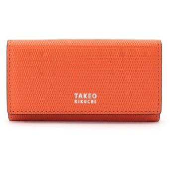 TAKEO KIKUCHI/タケオキクチ ミニメッシュキーケース [ メンズ キーケース 定番 ギフト プレゼント ] オレンジ(567) 00